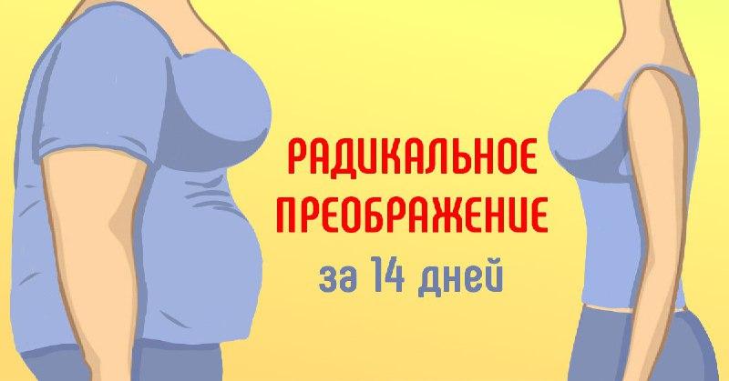 Как похудеть на 10–15 кг всего за две недели